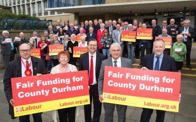 Labour demands fair funding for Durham