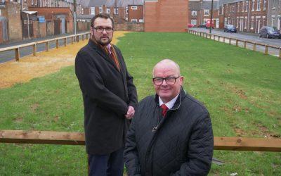 Labour changing community's landscape