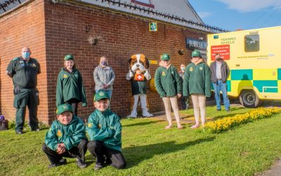 Defibrillator keeps community heart beating