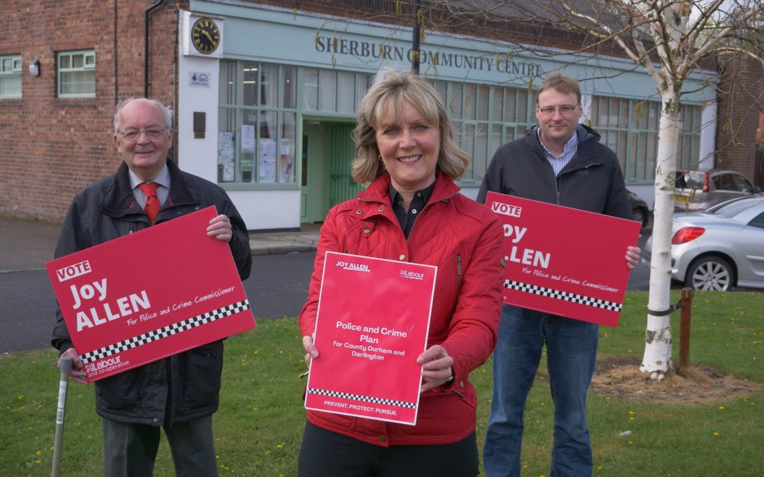 Labour candidates take on the roadhogs