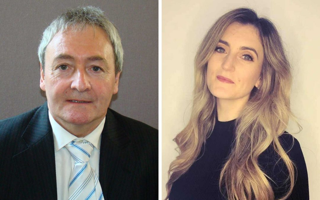 Cllr Kevin Shaw and Cllr Rochelle Charlton-Lainè